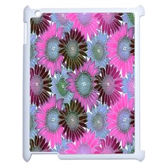Floral Pattern Background Apple Ipad 2 Case (white) by BangZart