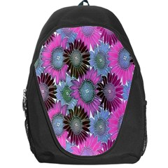 Floral Pattern Background Backpack Bag by BangZart