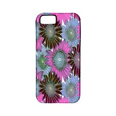 Floral Pattern Background Apple Iphone 5 Classic Hardshell Case (pc+silicone) by BangZart