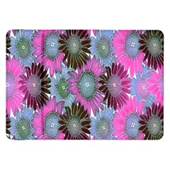 Floral Pattern Background Samsung Galaxy Tab 8 9  P7300 Flip Case by BangZart