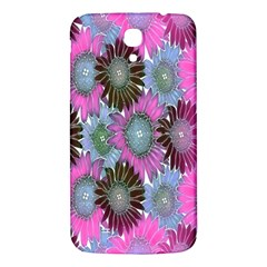Floral Pattern Background Samsung Galaxy Mega I9200 Hardshell Back Case