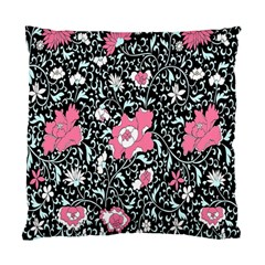 Oriental Style Floral Pattern Background Wallpaper Standard Cushion Case (one Side)