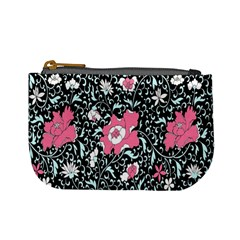 Oriental Style Floral Pattern Background Wallpaper Mini Coin Purses by BangZart