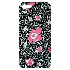 Oriental Style Floral Pattern Background Wallpaper Apple Iphone 5 Hardshell Case by BangZart