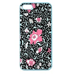 Oriental Style Floral Pattern Background Wallpaper Apple Seamless Iphone 5 Case (color) by BangZart