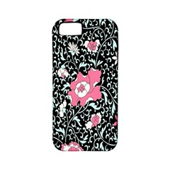 Oriental Style Floral Pattern Background Wallpaper Apple Iphone 5 Classic Hardshell Case (pc+silicone) by BangZart