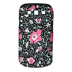 Oriental Style Floral Pattern Background Wallpaper Samsung Galaxy S Iii Classic Hardshell Case (pc+silicone)