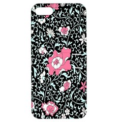 Oriental Style Floral Pattern Background Wallpaper Apple Iphone 5 Hardshell Case With Stand by BangZart