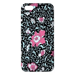 Oriental Style Floral Pattern Background Wallpaper Apple Iphone 5 Premium Hardshell Case by BangZart
