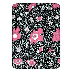 Oriental Style Floral Pattern Background Wallpaper Samsung Galaxy Tab 3 (10 1 ) P5200 Hardshell Case  by BangZart