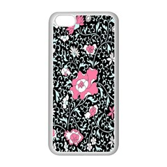 Oriental Style Floral Pattern Background Wallpaper Apple Iphone 5c Seamless Case (white)