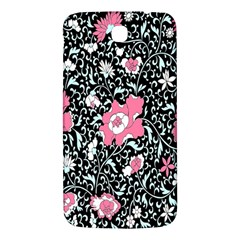 Oriental Style Floral Pattern Background Wallpaper Samsung Galaxy Mega I9200 Hardshell Back Case