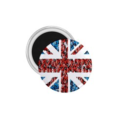 Fun And Unique Illustration Of The Uk Union Jack Flag Made Up Of Cartoon Ladybugs 1 75  Magnets by BangZart
