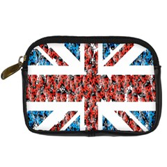 Fun And Unique Illustration Of The Uk Union Jack Flag Made Up Of Cartoon Ladybugs Digital Camera Cases