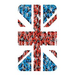 Fun And Unique Illustration Of The Uk Union Jack Flag Made Up Of Cartoon Ladybugs Memory Card Reader