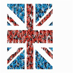 Fun And Unique Illustration Of The Uk Union Jack Flag Made Up Of Cartoon Ladybugs Small Garden Flag (two Sides)