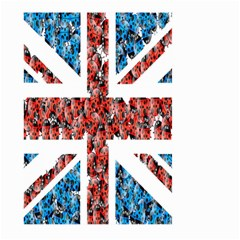 Fun And Unique Illustration Of The Uk Union Jack Flag Made Up Of Cartoon Ladybugs Large Garden Flag (two Sides) by BangZart