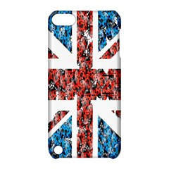 Fun And Unique Illustration Of The Uk Union Jack Flag Made Up Of Cartoon Ladybugs Apple Ipod Touch 5 Hardshell Case With Stand by BangZart