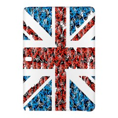 Fun And Unique Illustration Of The Uk Union Jack Flag Made Up Of Cartoon Ladybugs Samsung Galaxy Tab Pro 10 1 Hardshell Case by BangZart