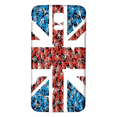 Fun And Unique Illustration Of The Uk Union Jack Flag Made Up Of Cartoon Ladybugs Samsung Galaxy S5 Back Case (white)
