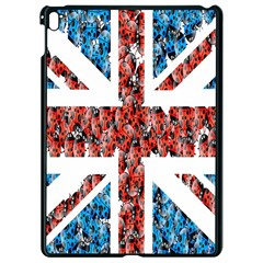 Fun And Unique Illustration Of The Uk Union Jack Flag Made Up Of Cartoon Ladybugs Apple Ipad Pro 9 7   Black Seamless Case
