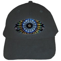 Stained Glass Rose Window In France s Strasbourg Cathedral Black Cap