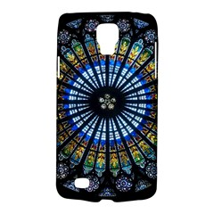 Stained Glass Rose Window In France s Strasbourg Cathedral Galaxy S4 Active by BangZart