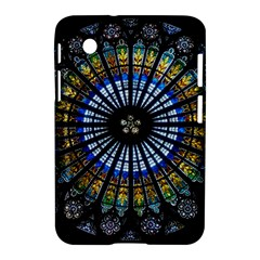 Stained Glass Rose Window In France s Strasbourg Cathedral Samsung Galaxy Tab 2 (7 ) P3100 Hardshell Case