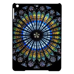 Stained Glass Rose Window In France s Strasbourg Cathedral Ipad Air Hardshell Cases