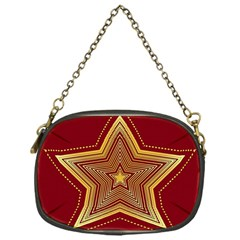 Christmas Star Seamless Pattern Chain Purses (one Side)  by BangZart