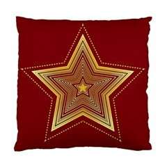 Christmas Star Seamless Pattern Standard Cushion Case (two Sides) by BangZart