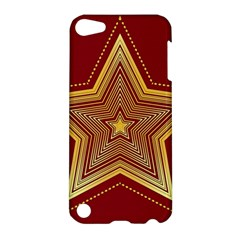 Christmas Star Seamless Pattern Apple Ipod Touch 5 Hardshell Case by BangZart