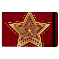 Christmas Star Seamless Pattern Apple Ipad 3/4 Flip Case by BangZart