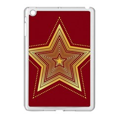 Christmas Star Seamless Pattern Apple Ipad Mini Case (white) by BangZart