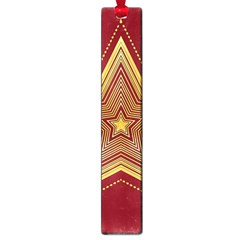 Christmas Star Seamless Pattern Large Book Marks by BangZart