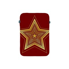 Christmas Star Seamless Pattern Apple Ipad Mini Protective Soft Cases by BangZart