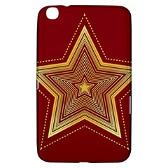 Christmas Star Seamless Pattern Samsung Galaxy Tab 3 (8 ) T3100 Hardshell Case  by BangZart