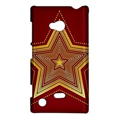 Christmas Star Seamless Pattern Nokia Lumia 720 by BangZart