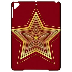Christmas Star Seamless Pattern Apple Ipad Pro 9 7   Hardshell Case