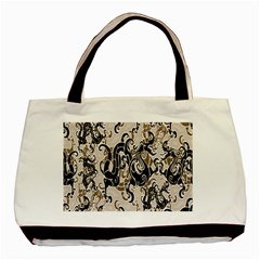 Dragon Pattern Background Basic Tote Bag by BangZart
