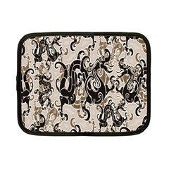 Dragon Pattern Background Netbook Case (small)