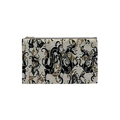 Dragon Pattern Background Cosmetic Bag (small)  by BangZart