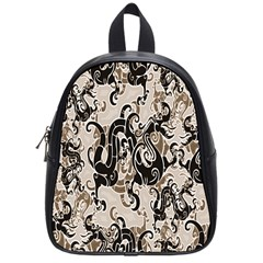 Dragon Pattern Background School Bags (small)  by BangZart