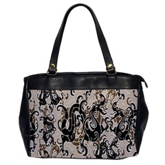 Dragon Pattern Background Office Handbags