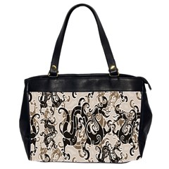 Dragon Pattern Background Office Handbags (2 Sides)  by BangZart