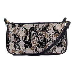 Dragon Pattern Background Shoulder Clutch Bags by BangZart