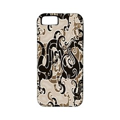 Dragon Pattern Background Apple Iphone 5 Classic Hardshell Case (pc+silicone) by BangZart