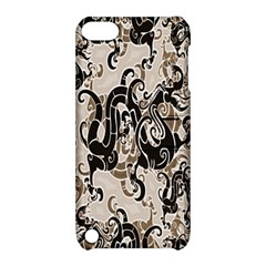 Dragon Pattern Background Apple Ipod Touch 5 Hardshell Case With Stand