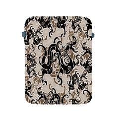 Dragon Pattern Background Apple Ipad 2/3/4 Protective Soft Cases by BangZart