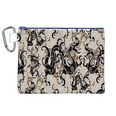 Dragon Pattern Background Canvas Cosmetic Bag (xl) by BangZart